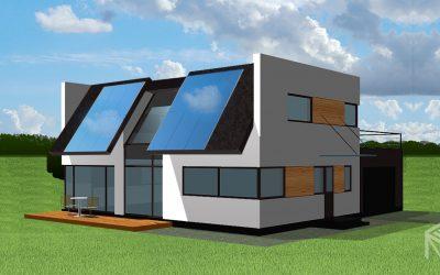 """Straipsnis apie ekologiškų namų projektavimą """"Mano namai"""" žurnale"""