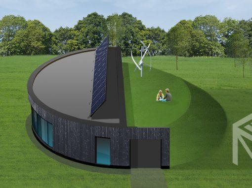 """A, A+ klasės namo projektas """"Saulės namas VII"""""""