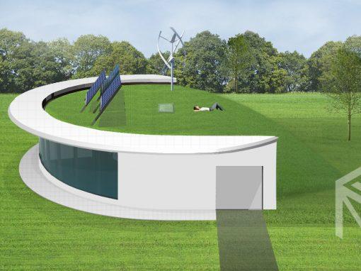 "A, A+ klasės namo projektas ""Saulės namas II"""