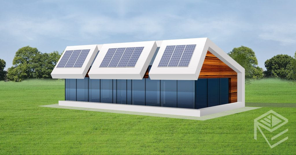 "A, A+ klasės namo projektas ""Saulės namas VI"""