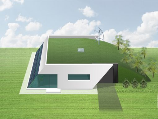 "A, A+ klasės namo projektas ""Saulės namas V"""
