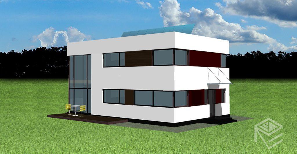 """A, A+ klasės namo projektas """"Saulės namas VIII"""""""
