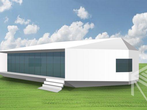 """A, A+ klasės namo projektas """"Saulės namas XII"""""""
