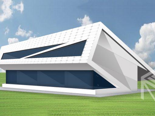 """A, A+ klasės namo projektas """"Saulės namas XIII"""""""