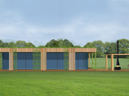 "A, A+ klasės ekologiško namo projektas ""Saulės namas XVI"""