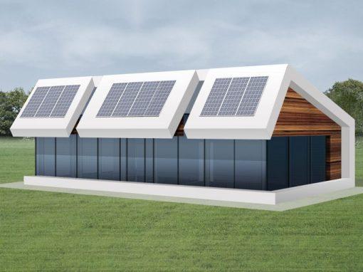 "A++ klasės namo projektas ""Saulės namas VI"""