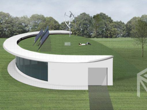 "A++ klasės namo projektas ""Saulės namas II"""