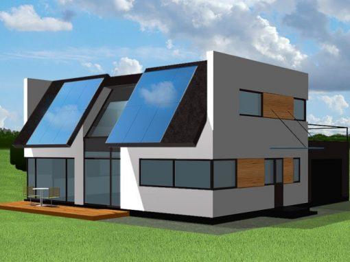 """A++ klasės namo projektas """"Saulės namas III"""""""