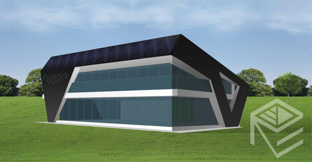 A, A+ klasės namo projektas Saulės namas
