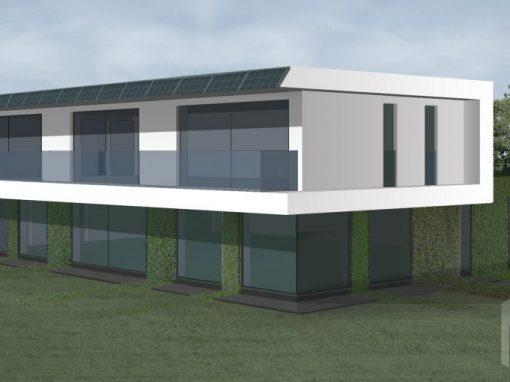 "A++ klasės ekologiško namo projektas ""Saulės namas XV"""