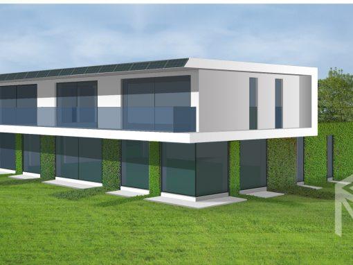 "A, A+ klasės ekologiško namo projektas ""Saulės namas XV"""