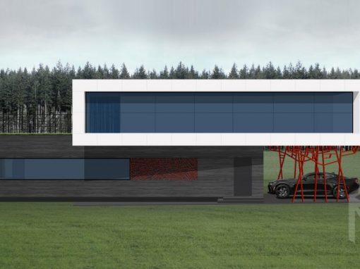 """A++ klasės namo projektas """"Saulės namas XX"""""""