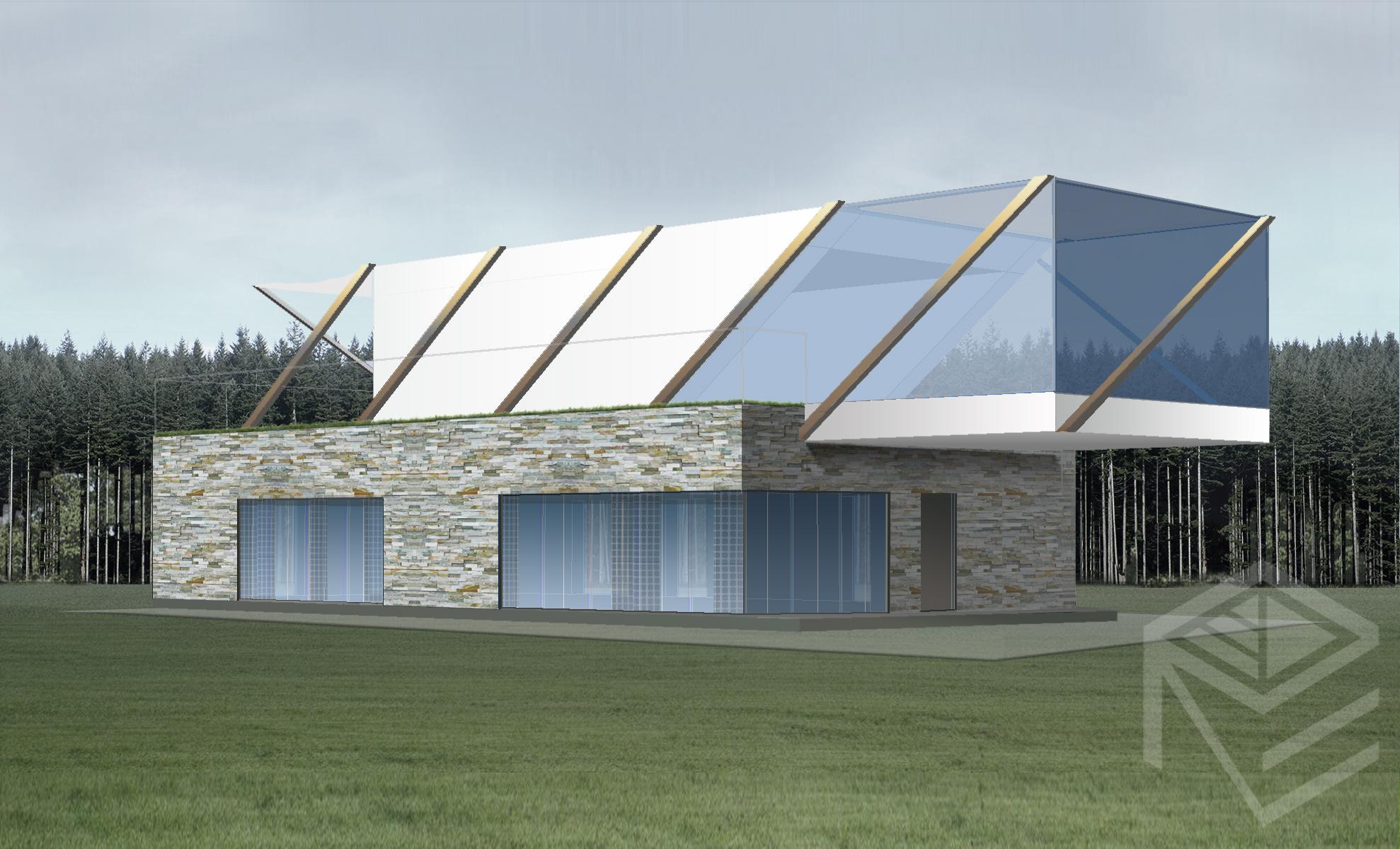 Architektes Svajones Pocienes projektas Tensegrity