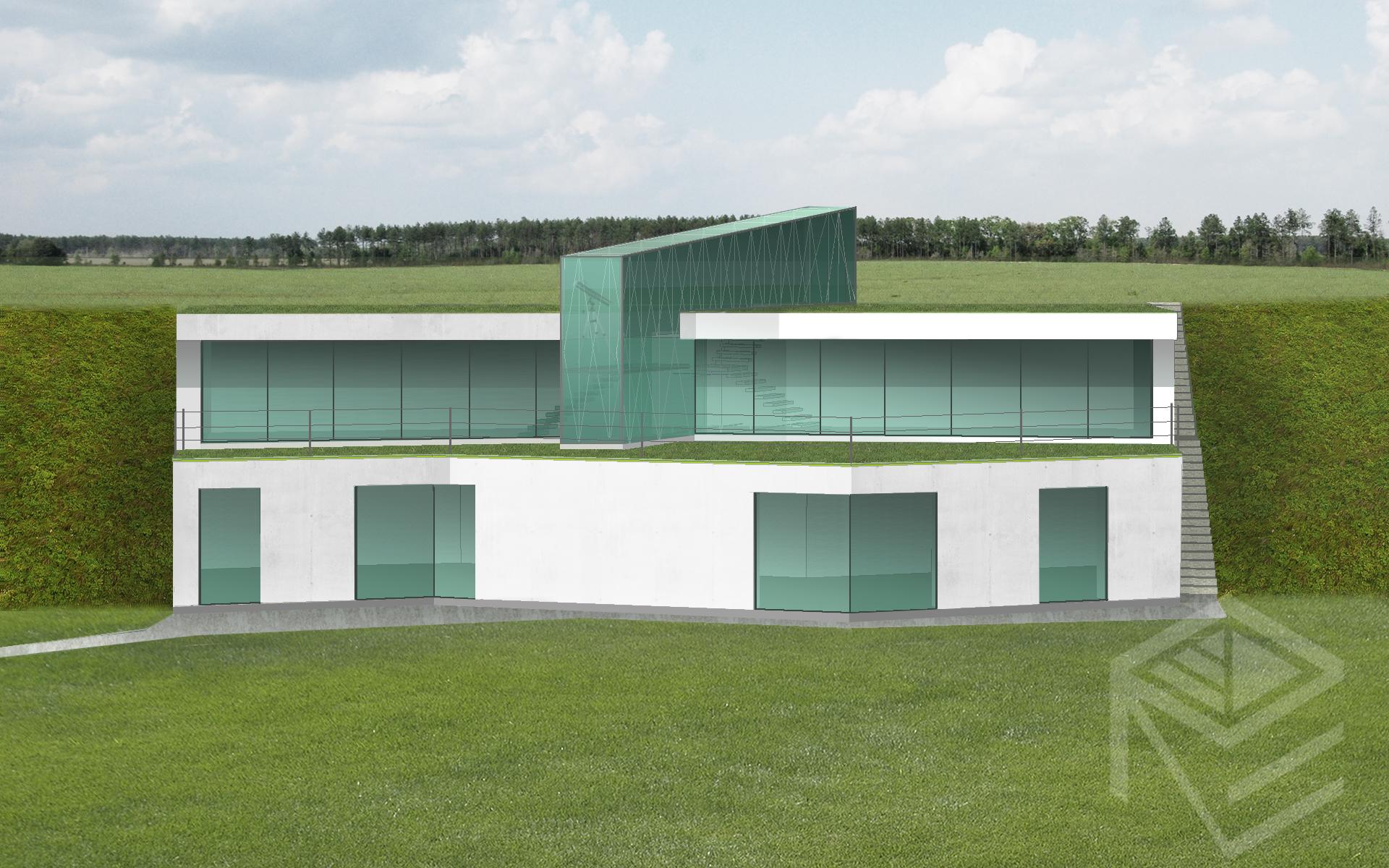 Architekte Svajone Pociene ekologisko namo projektas 1c