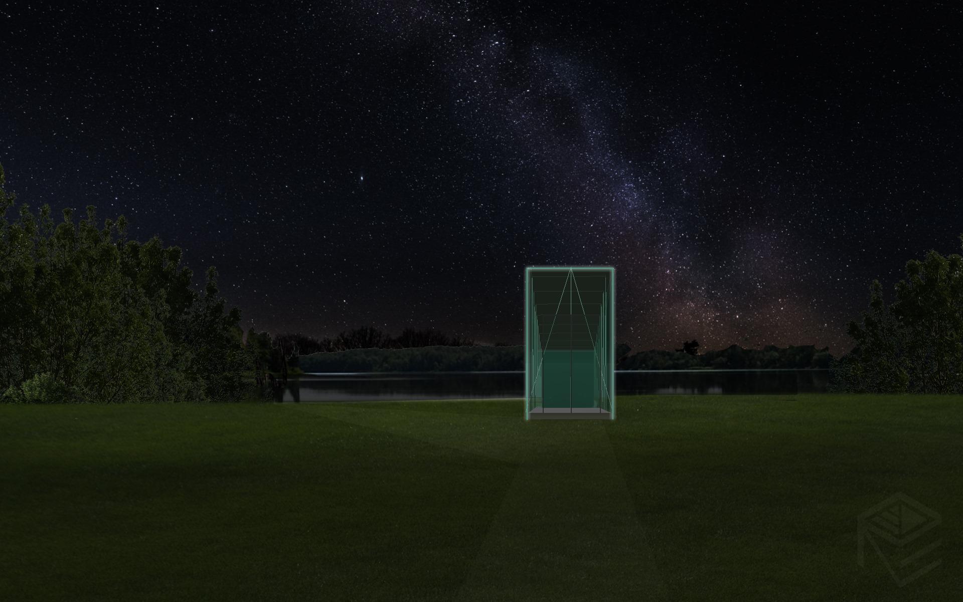 Architekte Svajone Pociene ekologisko namo projektas 1d naktis