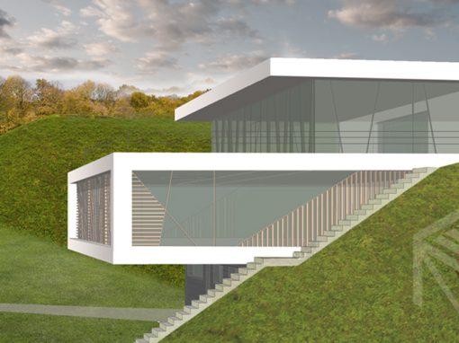 """A++ klasės ekologiškas namas """"Namas kalvoje II"""""""