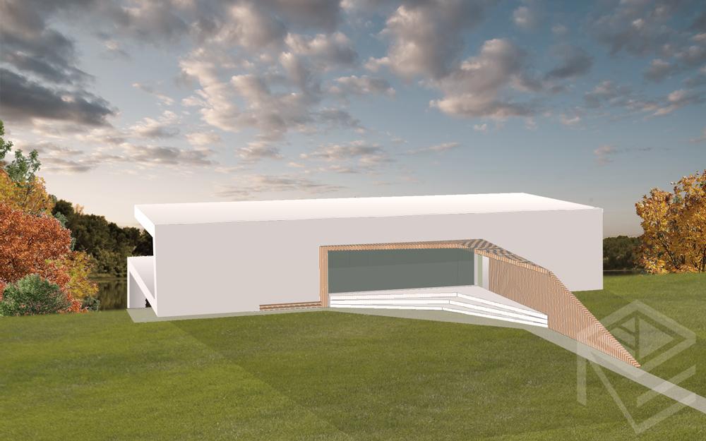Archtekte Svajone Pociene projektas Namas kalvoje 2 c